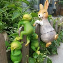 Frogs Bonsai Decorative Hang Frog Outdoor Garden Flowerpot Decor For Home Desk Garden