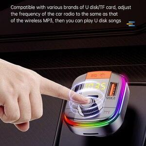 Image 4 - BC70 USB מטען לרכב Bluetooth 5.0 FM משדר רדיו מתאם תצוגה כפולה אלחוטי דיבורית שיחת MP3 מוסיקה נגן