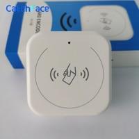 Encoder de cartão para o sistema de bloqueio da porta rfid eletrônico suporte 13.56 mhz smart card para ttlock hotel sistema bluetooth fechadura da porta inteligente|Trava elétrica| |  -