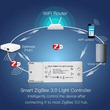 Умный светильник ZigBee 3,0, управление, сделай сам, умный дом, модифицированный переключатель, голосовое управление, работа с Echo Plus Alexa SmartThings