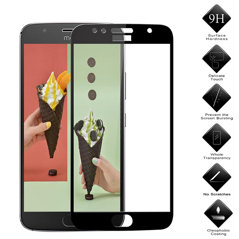 3D Tempered Glass For Moto One Zoom Macro Action G8 E6 Play G7 Screen Protector For Moto One Z4 P40 G5S E4 Plus Protective Film image