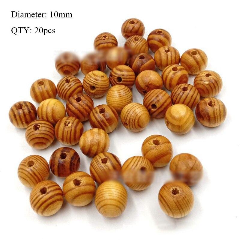 20 шт деревянные пуговицы для рукоделия, аксессуары для скрапбукинга, декорации, botones de madera para manualidades - Цвет: K09