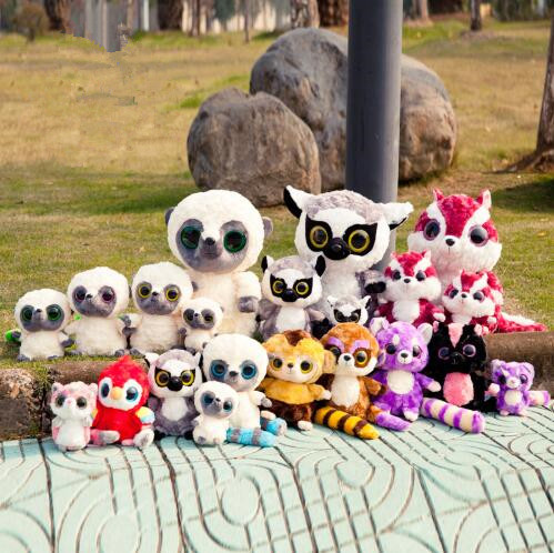 Super Kawaii Plush Kids Toy Lovely Yoohoo & Friends Big Eyes Cotton Squirrel Stuffed Doll Small Toy Birthday Gift For Children