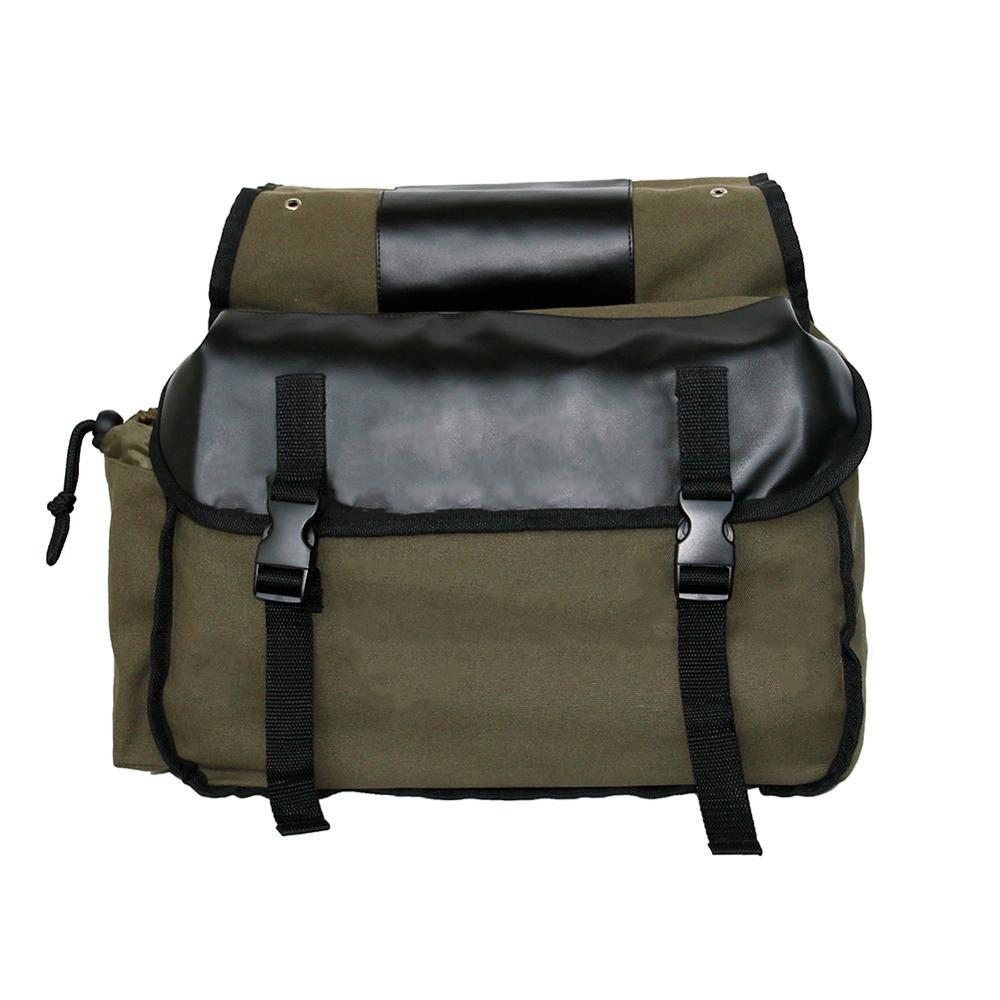 Sacs à bagages étanches en toile pour Honda shadow, sac de selle pour moto Suzuki dr 650 5