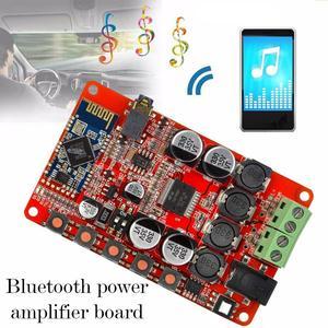 TDA7492P Amplifier Board TDA7492 Bluetooth 4.0 50W Electronic Digital Amplifier Receiver Wireless Amplifier 50W Module Audi B6V9