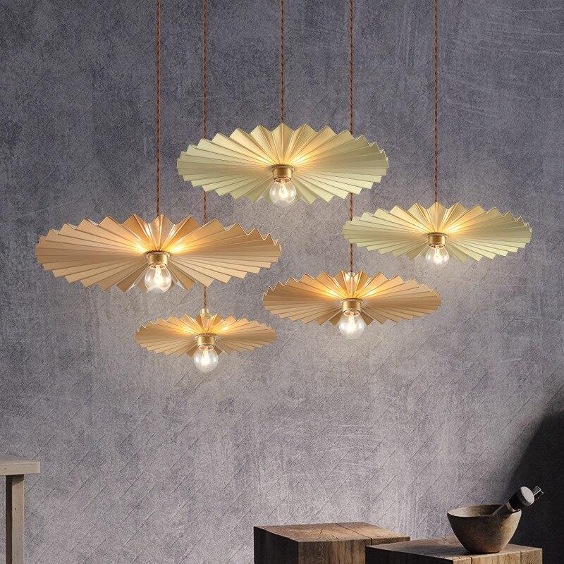 Nordic minimalista stile Americano retrò luce di stile di lusso di personalità creativa ristorante ristorante cafe bar retro lampadari - 4