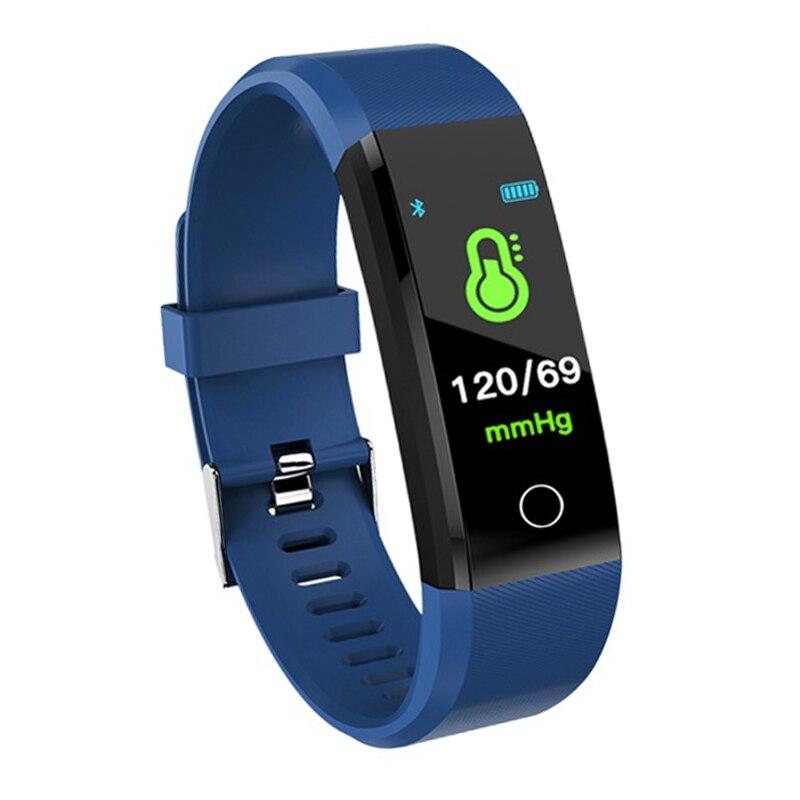 Smart Wristband Fitness Tracker Smart Watch Health Heart Rate Blood Pressure Waterproof Smart Bracelet For Men Women Smartband