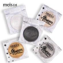 Meis marka tek renk Glitter göz farı tozu metalik parlak holografik kristal parlaklık göz Toppers göz farı makyaj 01101