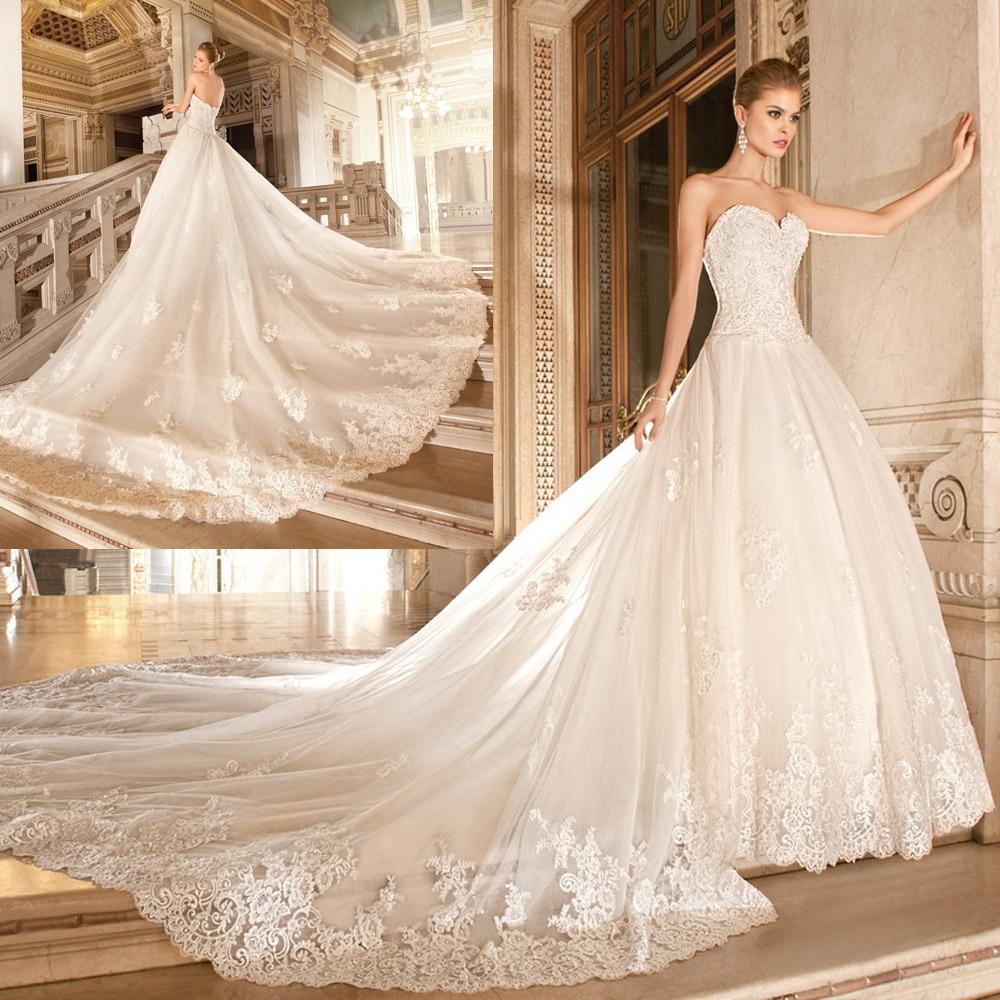 Vestido De Noiva Renda Vintage Lace Strapless Bridal Gown Removable Skirt Ball Gowns Chapel Train Mother Of The Bride Dresses
