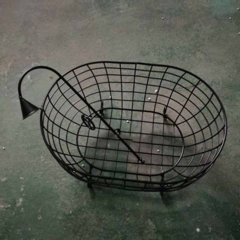 Iron Basket Shower Bathtub Novelty Posing Sofa Baby Photography Prop Accessories G99C