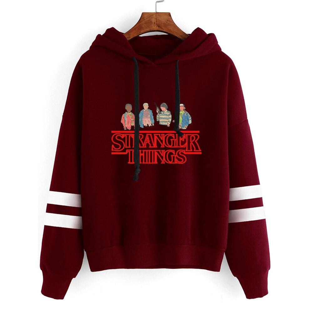Stranger Things Hoodie Women/Men Fashion Printed Long Sleeve Hooded Sweatshirts 2019 Hot Sale Casual Streetwear Clothes