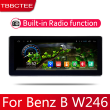 Android 2 Din Car radio Multimedia Video Player auto Stereo GPS MAP For Mercedes Benz B W246  CLA Class 2012~2014 Media Navi цена 2017