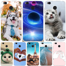 Case For Xiaomi Redmi 4X Cover Ultra Thin Silicone Cover Funda For Xiomi Redmi 4X Case Dog Cat For Xioami Redmi 4X Phone Cases табуреты хром