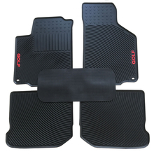 цена на special car latex wear thickened environmental protection floor mats for GOLF 4 rubber carpets waterproof tasteless