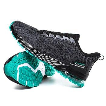 New Spring Summer Running Shoes Men Breathable Mesh Running Sneakers Big Size 39-46 Anti Slip Walking Footwears Mens Shoes 9