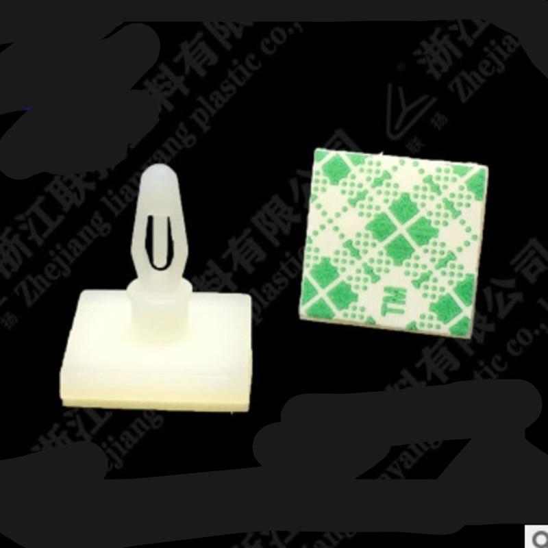 50 шт. HC-5/6/8/9/11/13 нейлоновая пластиковая палка на печатной плате распорка противостояние 3 мм отверстие Поддержка блокировки защелкивающиеся ...