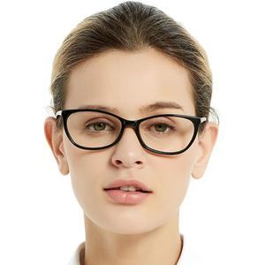 Image 2 - Free Shipping Fashion Acetate Eyewear HandMade Prescription Lens Medical Optical Eyeglass Woman And Men Frame ZOU
