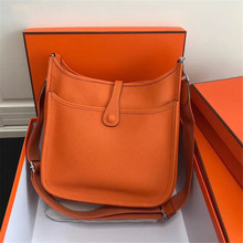Women Designer Brand Fashion Shoulder Bag Luxury Solid Color Genuine Leather Crossbody Bag Ladies Classic Medium Purse New 2021
