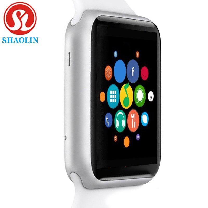 Bluetooth Smart Horloge Serie 4 SmartWatch case voor apple iPhone Android Smart telefoon Reloj Inteligente NIET apple watch (Rood Butto-in Smart watches van Consumentenelektronica op  Groep 1