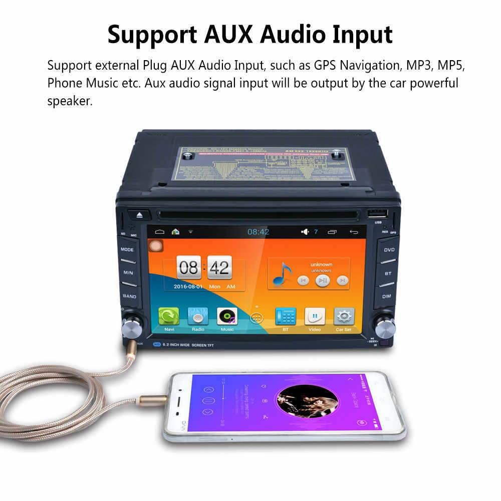 """Авто Радио 2 din общие модели 7 """"дюймовый ЖК сенсорный экран Bluetooth Автомагнитола aux Поддержка камеры заднего вида"""