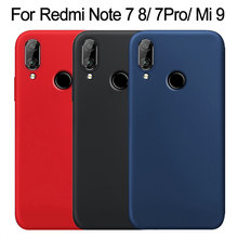 for Xiaomi Redmi Note 7 Case Liquid Silicone Soft Cover for Xiaomi Mi 9 9T 8 SE A2 Lite Redmi Note 8T 8 7 Pro K30 5G 7A 8A Case(China)