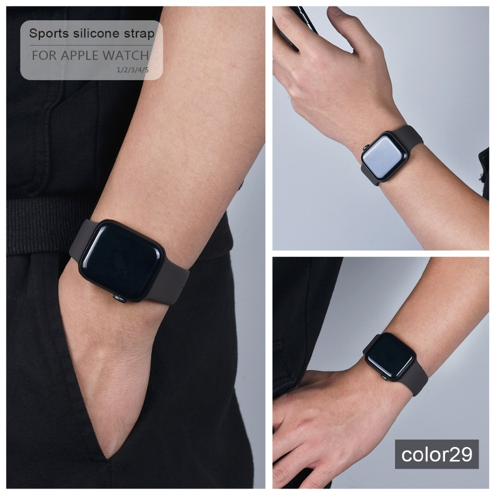 Soft Silicone Band for Apple Watch 87