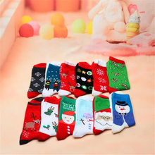Cotton Christmas Socks Women Men New 2019 Autumn Winter Year Santa Claus Tree Snow Elk Gift Happy Woman