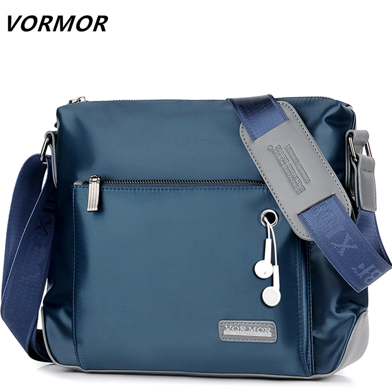 VORMOR Brand Men Messenger Bag High Quality Waterproof Oxford Shoulder Bag For Male Casual Travel Crossbody Bag
