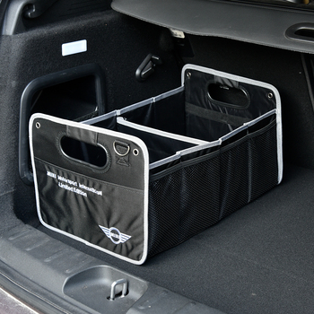 Universal Car Trunk Organizer Multi-Pocket Adjustable Folding Storage Box