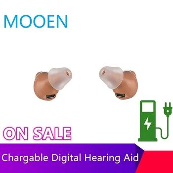 2020 najlepsze aparaty słuchowe nowy CE FDA małe ucho niewidoczne aparaty słuchowe CIC Mini wewnątrz wzmacniacz dźwięku do ucha Dropshipping tanie i dobre opinie NoEnName_Null