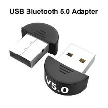 USB Bluetooth 5.0 Adapter Free Drive Desktop Computer Dongle Transceiver Music Audio Receiver Transmitter