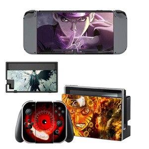 Image 2 - Pegatina de piel de Naruto para consola Nintendo Switch, controlador para NS, pegatina de vinilo
