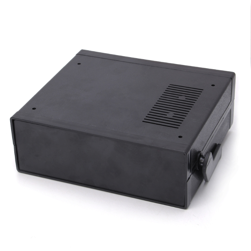 Waterproof Plastic Electronic Enclosure Cover Project Box Black DIY Housing Instrument Case Storage Cases Boxes 200x175x70mm
