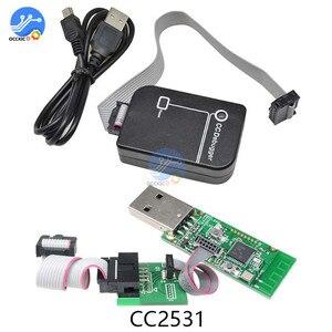 Image 1 - 1 set CC Debugger Bluetooth Zigbee Emulator Debugger CC2540/CC2531 Programming Connector Bluetooth 4.0 Analysis