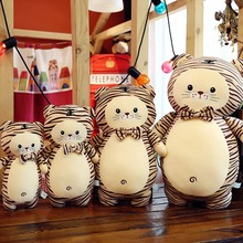 New creative soft sprouting tiger doll toy Girl Doll pillow