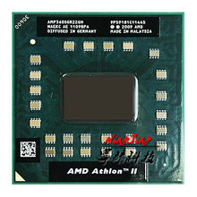 AMD Athlon II Dual-Core Móvel P360 CPU Processador de 2.3 GHz Dual-Core Dual-Fio AMP360SGR22GM Tomada s1
