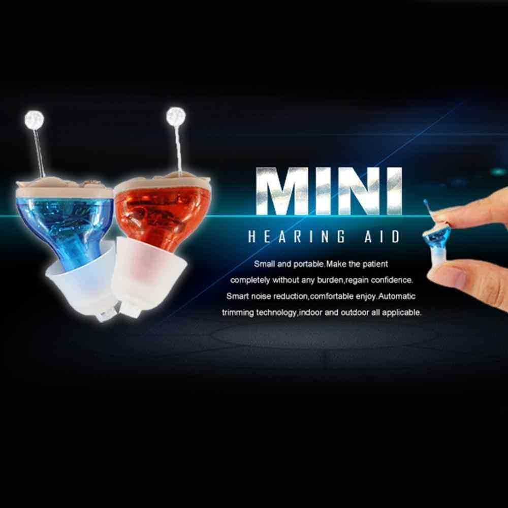 8 Channel Terbaru Mini Tak Terlihat CIC Alat Bantu Dengar Digital Alat Bantu Dengar untuk Tua Gratis Dropship Di Telinga Suara amplifier