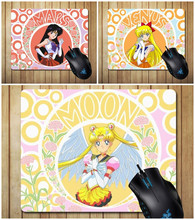 Cute Anime Sailor Moon Del Gatto Del Fumetto Molle Mouse Da Gioco In Gomma Pad Del Computer Comfort Mouse Zerbino Cosplay Accessori Regali Di Natale(China)