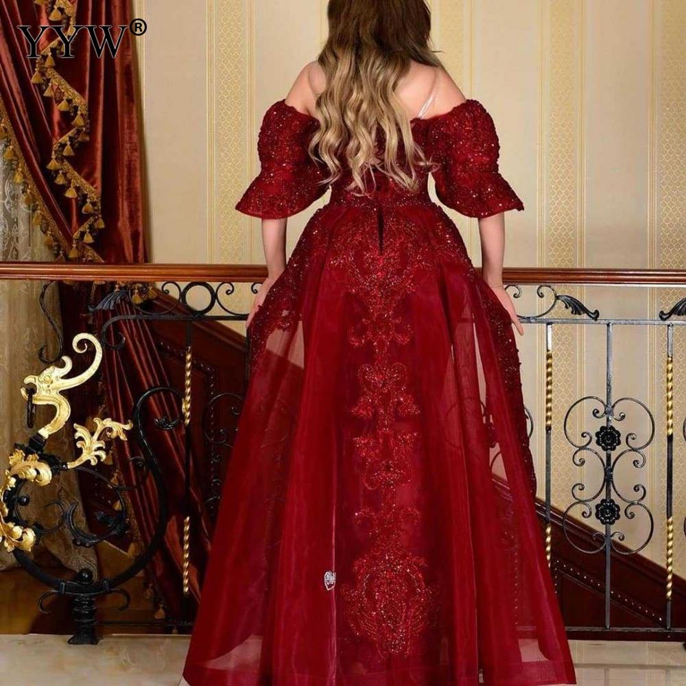 Women Evening Party Dress Red Vestidos Long Dress Sexy Party Dresses Ruffles Off Shoulder Plus Size Women Dresses 3
