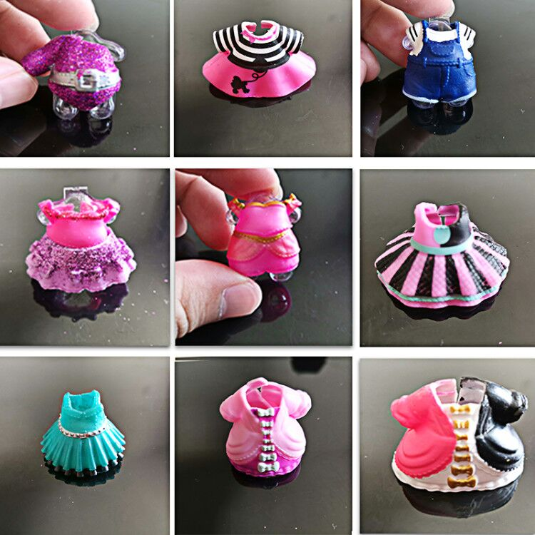 Original Beautiful Doll Clothes For DIY LoL Big Doll Figure Toy Accessories Toy Decorations Products Random Ship