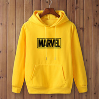 Marvel Logo Hoodie Unisex (16 Colors) 4