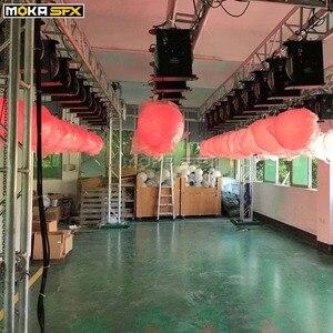 Image 4 - RGB Farbwechsel Led aufzug Ball dmx 512 8 chs Led Effekt Licht für nacht club professionelle bühne hochzeit dekoration