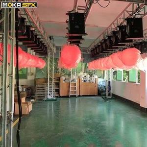Image 4 - RGB צבע שינוי Led מעלית כדור dmx 512 8 chs Led אפקט אור עבור לילה מועדון מקצועי שלב חתונה קישוט