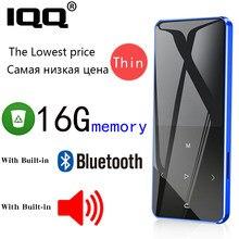 IQQ – lecteur MP3 avec écran tactile, 16 go, Bluetooth 4.2, haut-parleur, baladeur Portable avec Fm/Radio, corps en métal, musique Hifi