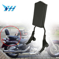 Motorcycle Backrest Sissy Bar w/ Luggage Rack For Kawasaki Vulcan VN400 VN800 95 12 96 97