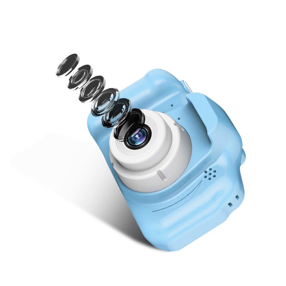 Hfc2186c392414d4daa6e0604080571fdw Kebidu Mini Digital Camera 2 Inch Cartoon Cute Camera Toys Children Birthday Gift 1080P Toddler Toys camera