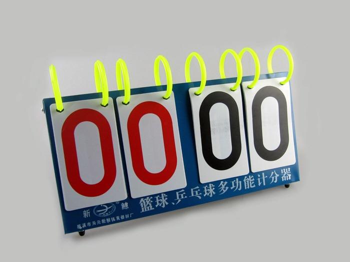 Многофункциональное табло с четырьмя табло с цифрами счетная доска только для пинг понга Волан