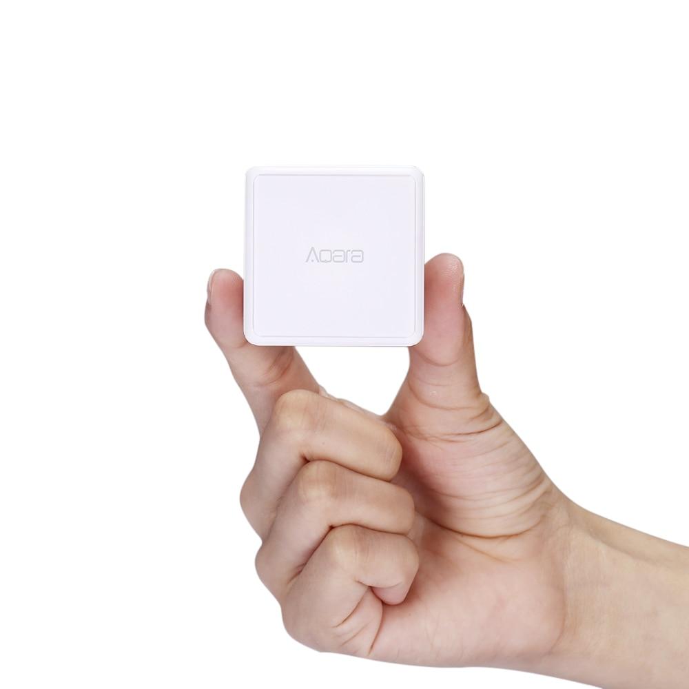Aqara Magic Cube Controller Wireless switch Xiaomi smart home sensor 6 gestures Zigbee sensor Mi home app Connect