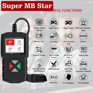 Diagnostic-Tool Code-Reader Car-Scanner Elm327 Obd2 Professional Mercedes Mazda Bmw 3001
