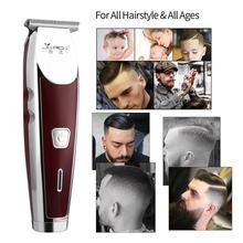 Профессиональная машинка для стрижки волос Перезаряжаемые беспроводные